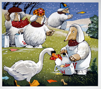 The Wombles (Originals) by Jesus Blasco