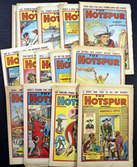 Collection of 52 The New Hotspur 1977