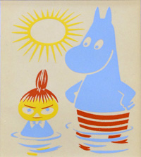 The Moomins (Numbered Limited Edition Prints) by Tove Jansson